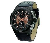 Herren Armbanduhren Chronograph Quarz Edelstahl JG7800-22