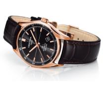 Certina Herren-Armbanduhr XL Analog Automatik Leder C006.407.36.081.00