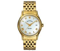 Herren-Armbanduhr WALLSTREET Analog Automatik Edelstahl beschichtet 20002.2112