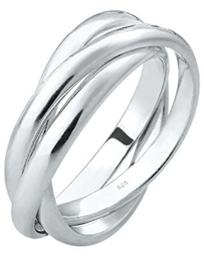 Ring Wickelring Trio Basic 925 Silver