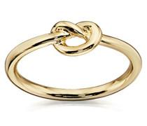 Costume Damen Gold Knoten Ring–Größe S
