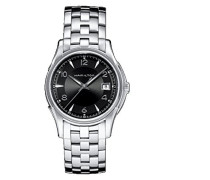 Hamilton Herren-Armbanduhr XL Analog Quarz Edelstahl H32411135
