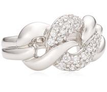 - Damenring mit weißen Zirkonias W.:54 368270004L-054