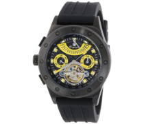 Armbanduhr für Herren mit Analog Anzeige, Automatik-Uhr und Silikonarmband - Wasserdichte Herrenuhr mit zeitlosem, schickem Design - klassische Uhr für Männer - BM172-622D Freeport