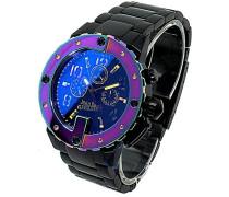 Herren-Armbanduhr Analog Quarz Edelstahl 8500210