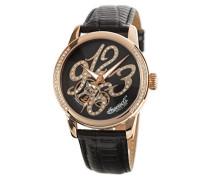 Automatics Damen-Armbanduhr Analog Automatik Leder Braun IN4901RBR