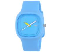 Unisex-Armbanduhr Analog Quarz Plastik blau AL10012