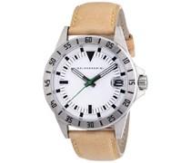 Baldessarini Herren-Armbanduhr XL DUB Analog Quarz Leder Y8030W/20/00