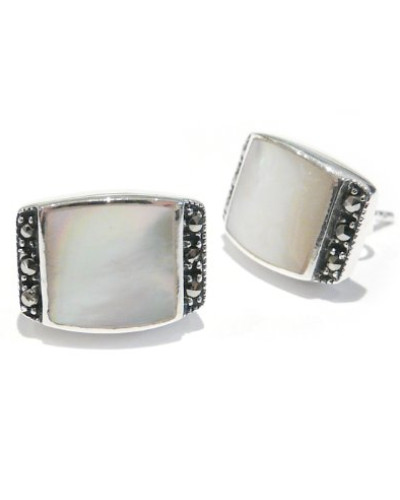 Damen-Ohrstecker Sterling-Silber 925 Markasit MER139