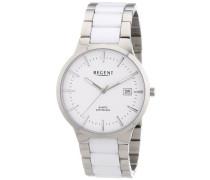Regent Herren-Armbanduhr XL Analog Quarz verschiedene Materialien 11090291