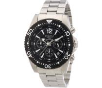 Herren-Armbanduhr XL Analog Edelstahl 11150496