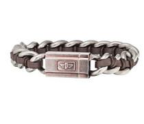 Herren-Charm-Armband Edelstahl PJ26052BSEBR.02-L