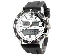 Herren-Armbanduhr Analog - Digital Quarz Silikon OR22691314
