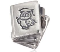 Unisex-Bead Sterling-Silber 925 Bücherstapel 790536