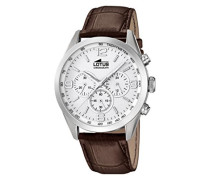 Herren-Armbanduhr Analog Quarz Leder 18155/1