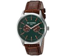 BEN SHERMAN Herren-Armbanduhr Spitalfields Social Analog Quarz Leder WB024BR