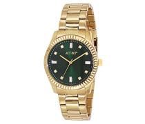 Cool 59778-432-J Damen-Armbanduhr Alyce Quarz analog Stahl goldfarben