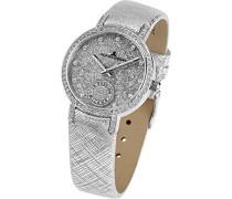 Damen-Armbanduhr XS  Analog Quarz Leder 1-1764B