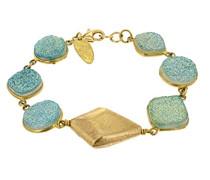 glänzend Druzy Stones Armband von 20cm