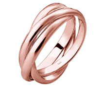 Ring Wickelring Trio Basic 925 Silber rosé vergoldet 0601480317