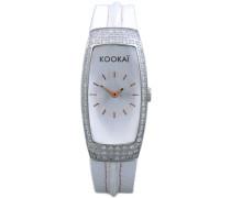Kookai Damen-Armbanduhr Analog Quarz Leder SPE1611-0001