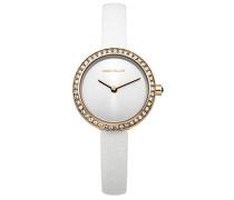 Damen-Armbanduhr Analog Quarz Leder KM146WRG