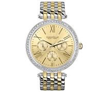 Caravelle New York Damen-Armbanduhr Analog Quarz Edelstahl 45N100