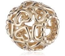 Damen-Bead 14 Karat 585 Gelbgold 750964