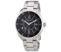Police Herren-Armbanduhr XL NAVY Analog Quarz Edelstahl P13669JS-02M