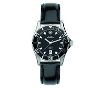 Damen-Armbanduhr Newport Trophy Analog Quarz Leder 14290/AN14