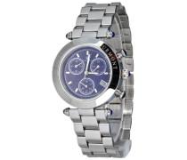 Damen-Armbanduhr Visage CD-VISL-QZ-ST-STST-BL