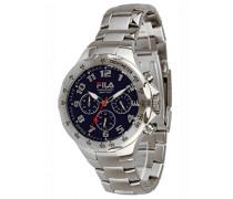 Herren-Armbanduhr Chronograph Quarz Edelstahl FA0795-32