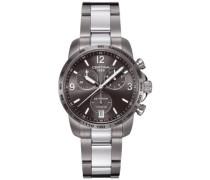 Certina Herren-Armbanduhr XL Chronograph Quarz Edelstahl C001.417.44.087.00