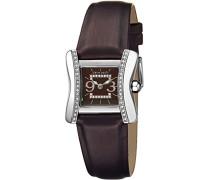 Damen-Armbanduhr Ailes Analog Quarz Leder PC104232S02