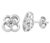 (MIO) Ohrringe 18 Karat (750) Weißgold 1.15 cm M0339P