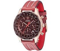 DETOMASO Herren-Armbanduhr Chronograph Quarz SL1624C-RM