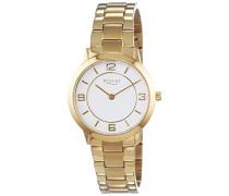 Damen-Armbanduhr XS Analog Quarz Edelstahl beschichtet 12210931