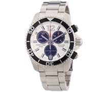Certina Herren-Armbanduhr XL Chronograph Quarz Edelstahl C013.417.11.037.00