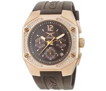 Unisex-Armbanduhr Analog Quarz Edelstahl CW100122003