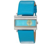 Unisex-Armbanduhr Analog Quarz Leder 60391L3