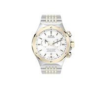 EDOX DELFIN THE ORIGINAL Unisex-Armbanduhr Analog Quarz Edelstahl 10106 357J AID