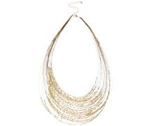 New Look Multi Zeile Glitzer Halsband von 53-59cm