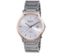 Herren-Armbanduhr XL Analog Quarz Edelstahl 11160231