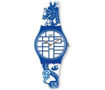 Swatch Jungen-Armbanduhr Analog Plastik GZ268