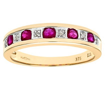 Damen-Ring 9 Karat 375 Weißgold