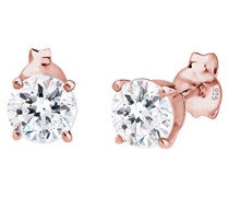 Damen-Ohrstecker Basic Glamour vergoldet silber 925 Swarovski Kristall 0310850914