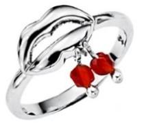 Damen Ring, Sterling-Silber 925, Zirkonoxid, 52 (16.6), L22006R52