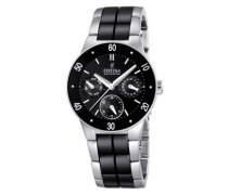 Damen-Armbanduhr XS Trend Ceramic Multifunktion Chronograph Keramik F16530/2
