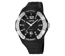 Calypso Herren-Armbanduhr Analog Quarz Plastik K5676/7