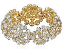 Dandelion Felder Gold Tone Kristalle elastisch